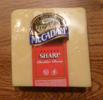 McCADAM Sharp Cheddar